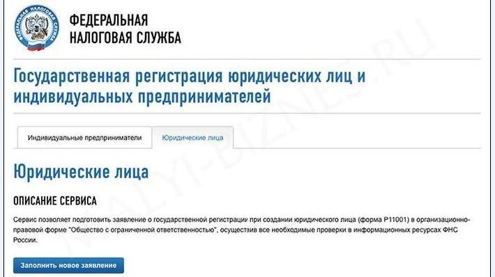 Изображение - Регистрация ооо через онлайн-сервис. пошаговая инструкция 3