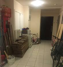 Схрон мебели в общих коридорах