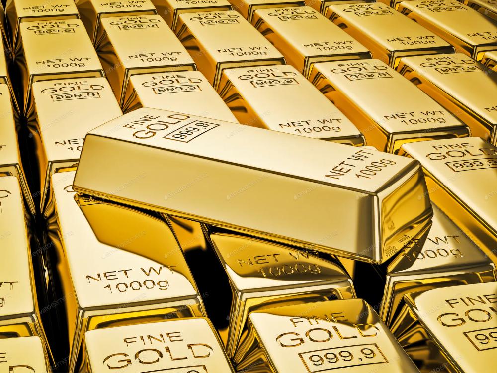 Цена золота по миру упала по минимума