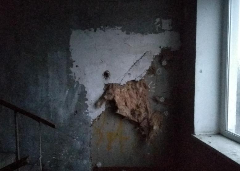 Обшарпанные стены - не самая страшная проблема