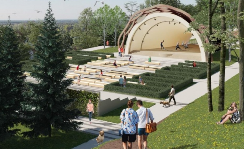 Проект Александрийского сада в Нижнем Новгороде