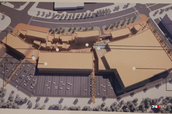 План нового аквапарка в Челябинске