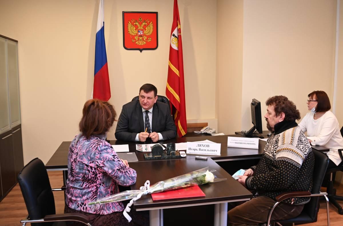 Игорь Ляхов поддержал создание литературной аллеи