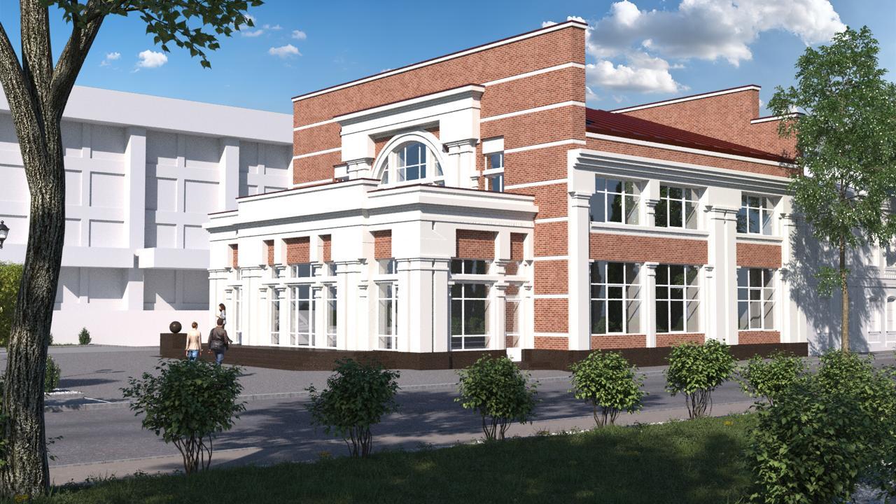 Проект реконструкции здания планетария