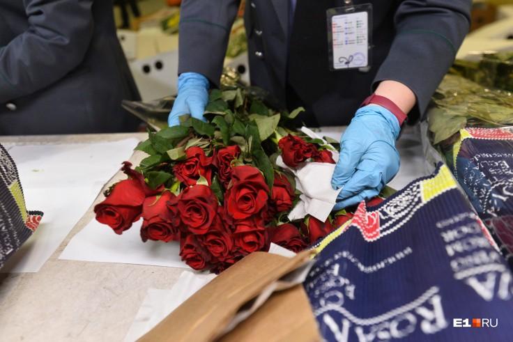 Стоимость 101 тонны цветов оценивается примерно в четыре миллиона долларов