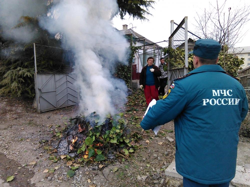 Осеннее напоминание дачникам. Штраф за сжигание мусора - ПРАЙМ