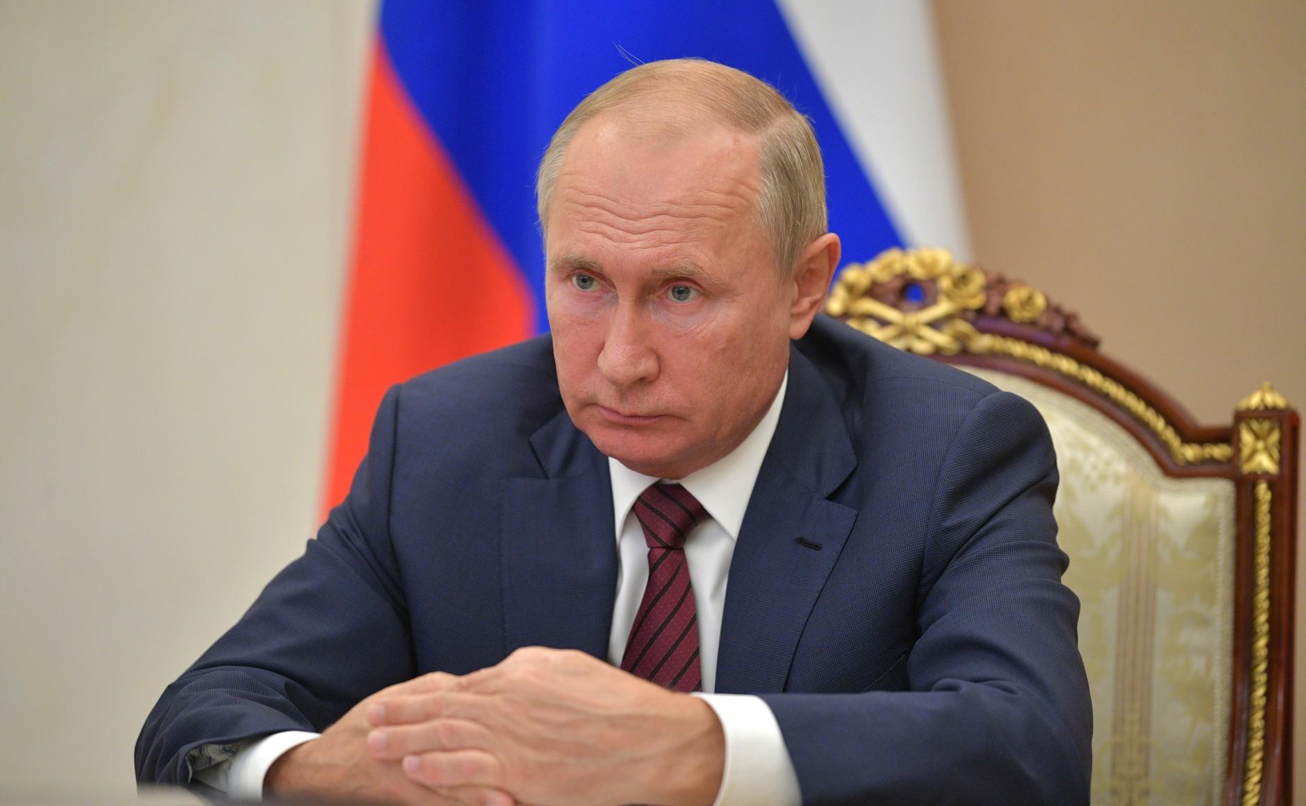 Путину исполнилось 69 лет